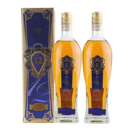 40°英国马谛氏12年特别精选苏格兰威士忌700ml(双瓶装)