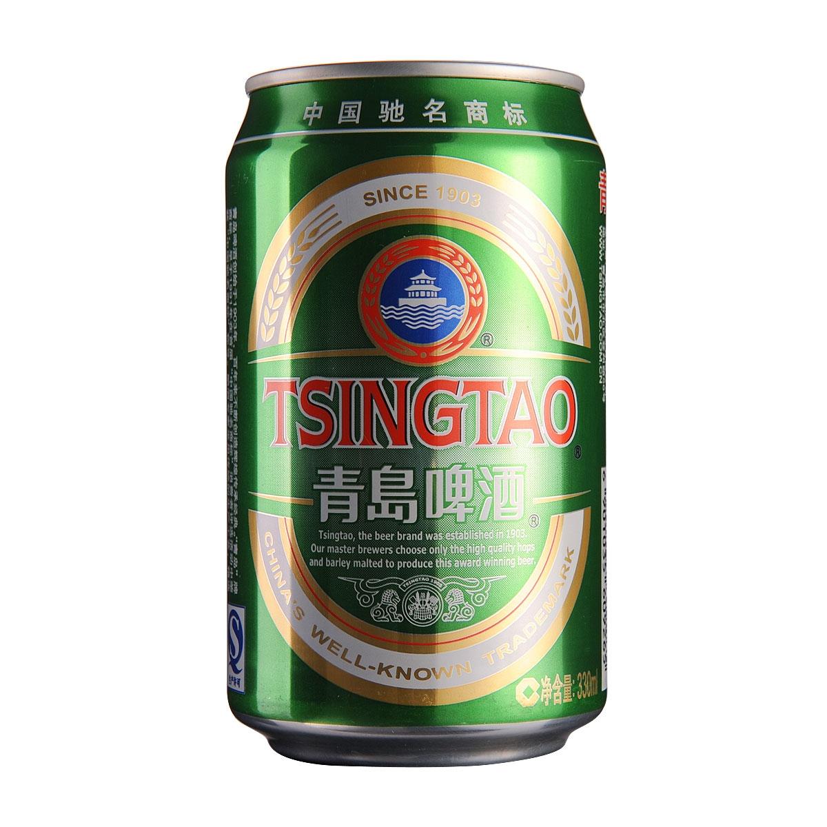 青岛醇厚啤酒330ml_啤酒