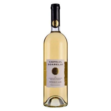 【清仓】罗马尼亚湖西酒庄阳光城堡系列白姑娘半干白葡萄酒(2011)750ml