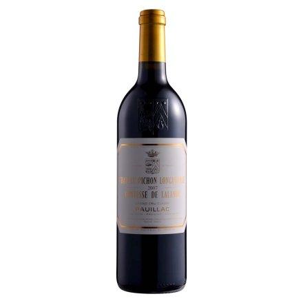法国碧尚女爵堡2007干红葡萄酒750ml