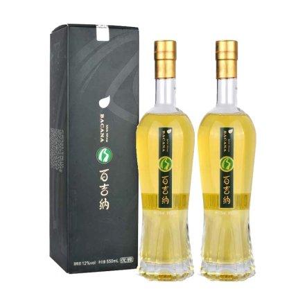 12°河套百吉纳奶酒优雅550ml(双瓶装)