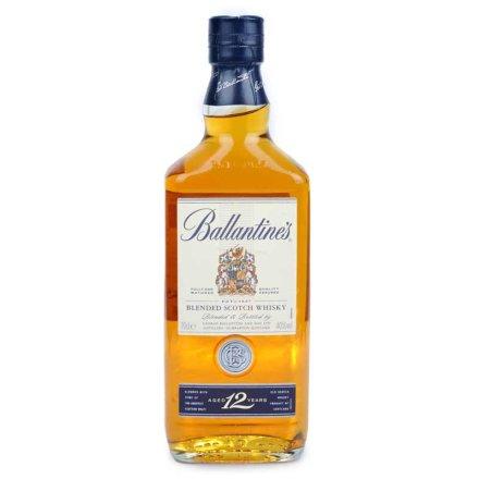 40°英国百龄坛十二年苏格兰威士忌700ml