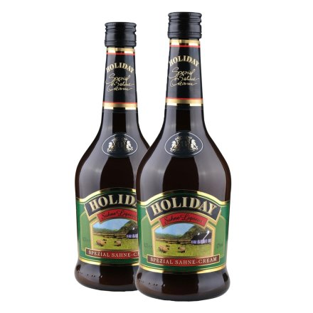 17°德国好利来奶油味利口酒(配制酒)(双瓶装)