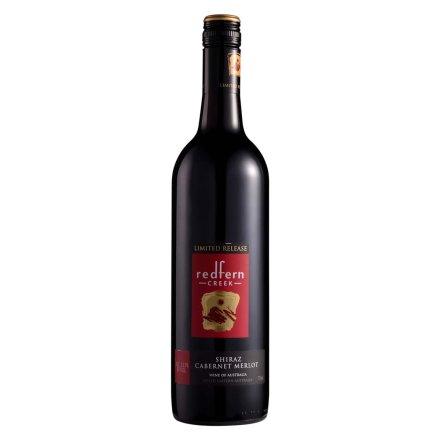 澳大利亚红坊溪西拉赤霞珠美乐半干红葡萄酒750ml