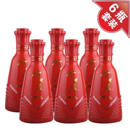 42°典藏10年今世缘(裸瓶)500ml(6瓶装)
