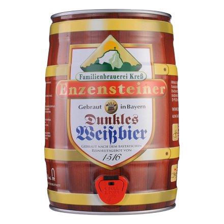 德国原浆小麦黑啤酒5L