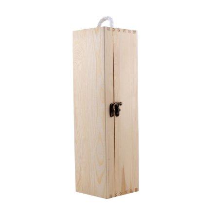 单支松木盒
