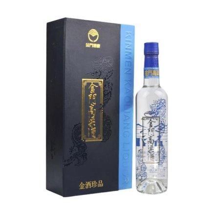 38°金酒珍品(蓝金龙)500ml+42°杜康老字号2000 500ml(双瓶装)