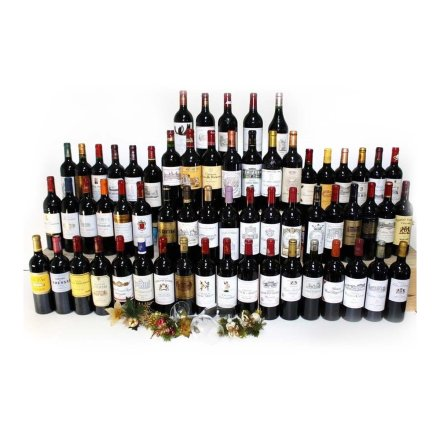 (列级庄·名庄正牌)波尔多1855列级61家酒庄套装(2007年份)