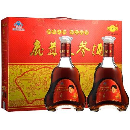 30°鹿茸人参酒礼盒500ml*2