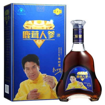 30°鹿茸人参酒盒装500ml