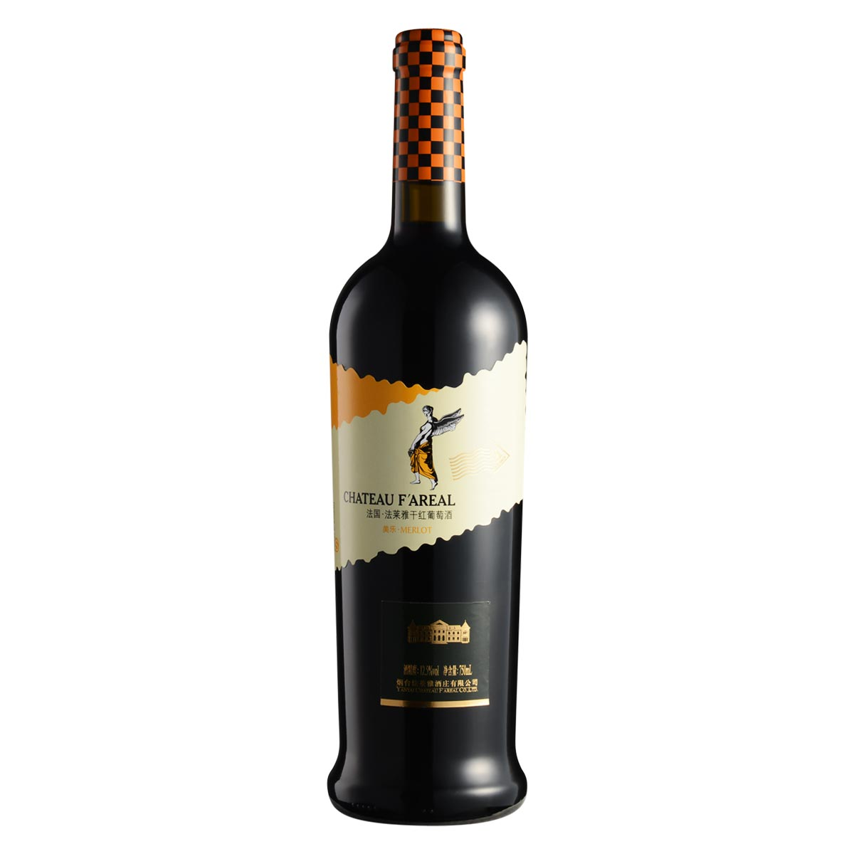 法国法莱雅美乐干红葡萄酒