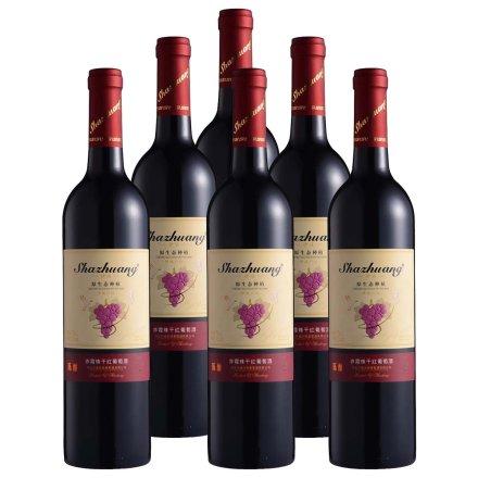 中国沙莊陈酿•原生态种植赤霞珠干红葡萄酒750ml(6瓶装)