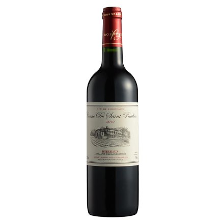 【清仓】12.5°德圣保罗伯爵干红葡萄酒750ml