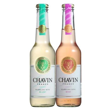 法国柏翠诗白玫瑰起泡葡萄酒275ml+法国柏翠诗红玫瑰起泡葡萄酒275ml
