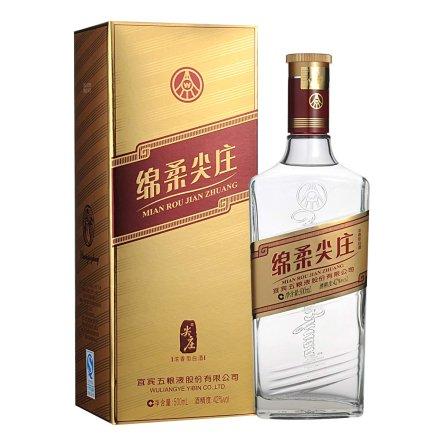 【清仓】42°五粮液绵柔尖庄(金标)500ml