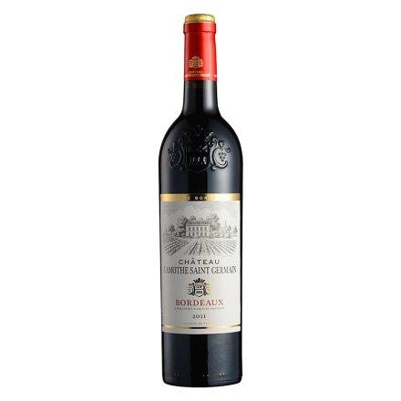 法国拉莫特古堡波尔多干红葡萄酒750ml