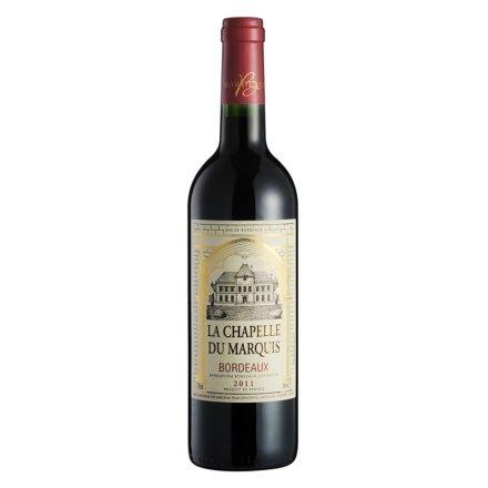 【清仓】法国男爵小教堂波尔多2011干红葡萄酒