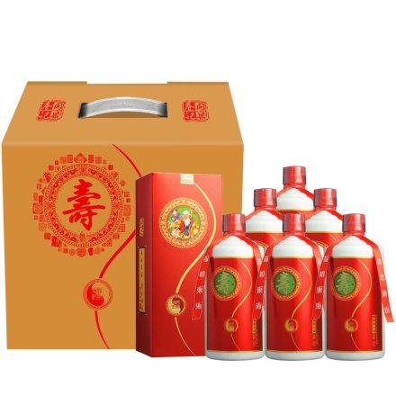 53°茅台镇同乐春寿酒500ml(6瓶装)