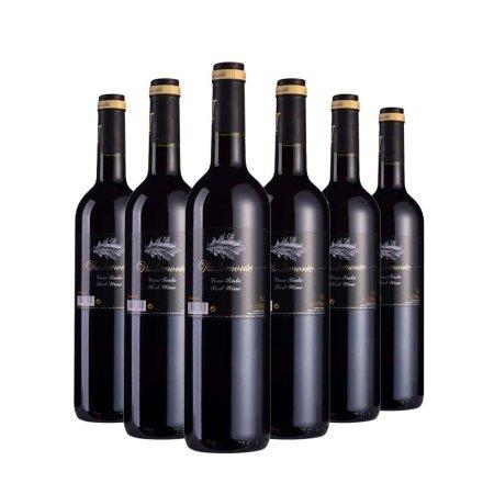 西班牙蒙特干红葡萄酒750ml(6瓶装)