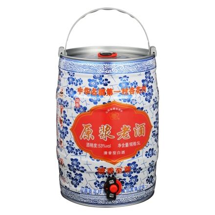 53°汾杏原浆老酒(清香至尊)5000ml