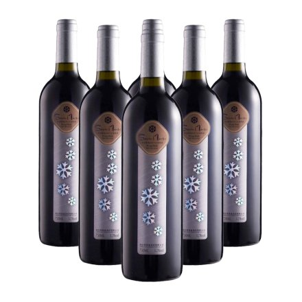 雪诺曼(雪花篇)黑比诺干红葡萄酒750ml (6瓶装)