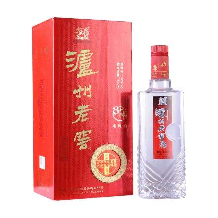 52°泸州老窖8年头曲定制原酒500ml