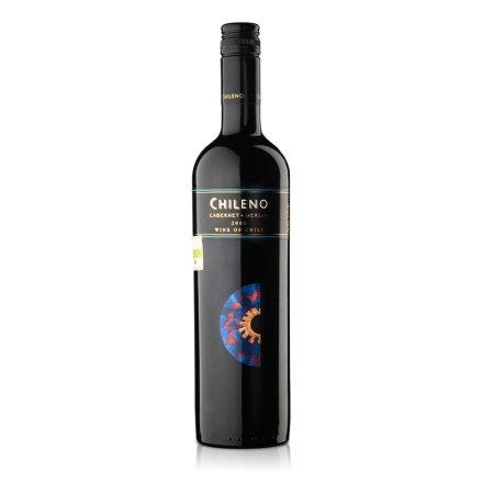 智利红酒智利人赤霞珠梅洛干红葡萄酒