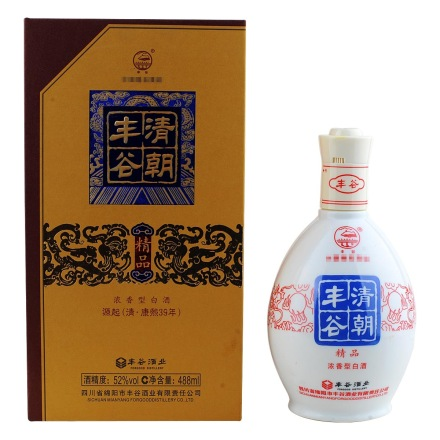 (清仓)52°丰谷酒488ml