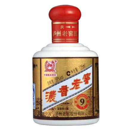 38°浓香老窖鉴藏小酒125ml