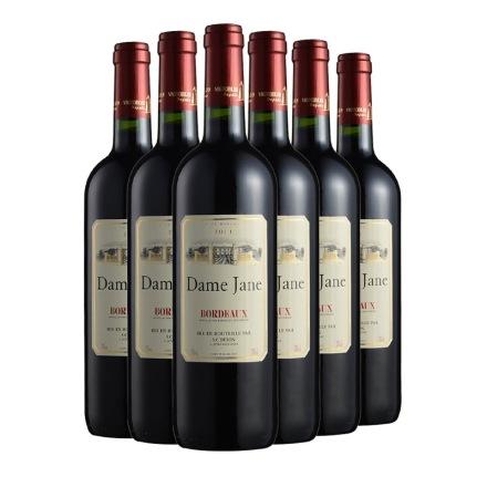 法国杜隆波尔多产区圣母简古堡干红葡萄酒2011 750ml(6瓶装)