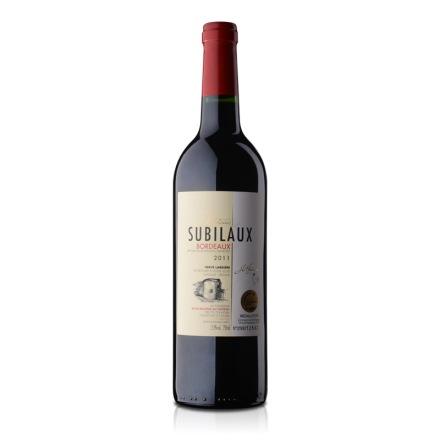 法国图内文苏比乐城堡干红2011年份葡萄酒750ml