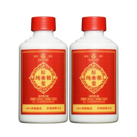 52°谷养康优级红纯粮原浆酒100ml(乐享)(双瓶装)