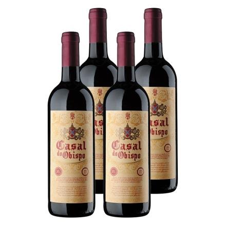西班牙卡萨尔教皇半甜红葡萄酒(4瓶装)