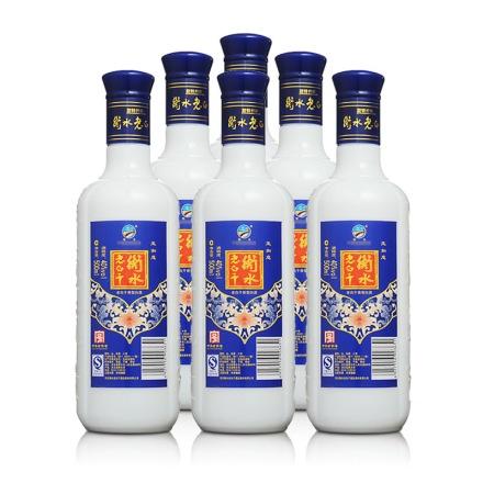 40°衡水老白干玉如意500ml(6瓶装)
