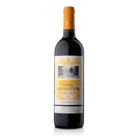 法国萨朗索酒庄红葡萄酒2007年750ml