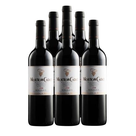 法国木桐嘉棣酒庄干红葡萄酒750ml(6瓶装)