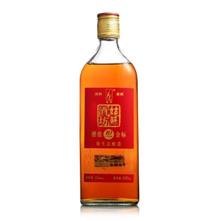 10°雅侬姑苏酒坊金标500ml