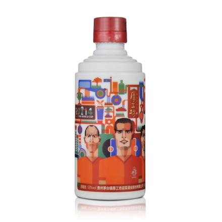 53°厚工坊酒·2014世界杯四强荷兰队228ml