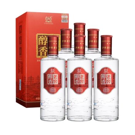 52°老窖醇香陈藏500ml(6瓶装)