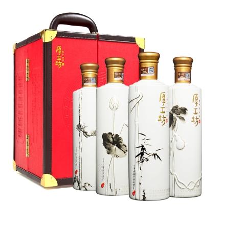 53°厚工坊酒•四季(高档礼盒)600ml*4