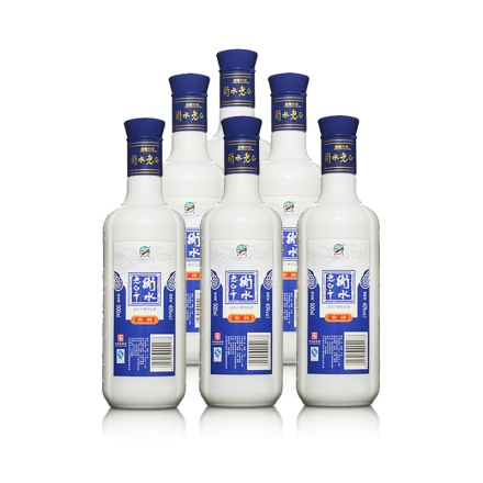 40°衡水老白干蓝吉祥500ml(6瓶装)