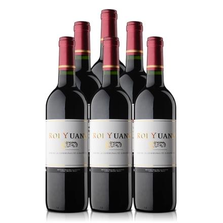 法国湟源圣斯酒窖精选干红葡萄(6瓶装)