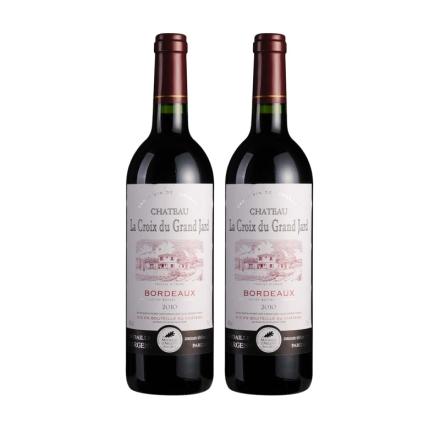 法国十字庄园城堡红葡萄酒750ml(双瓶装)