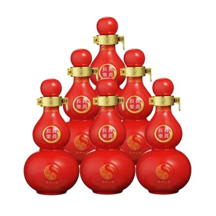 42°长寿长乐中国红125ml(6瓶装)