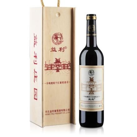 益利梅鹿辄干红葡萄酒礼盒750ml