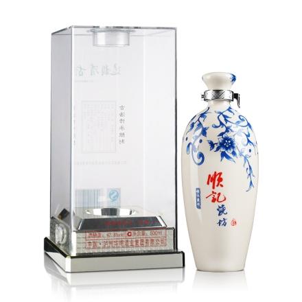 【清仓】42.8°泸州顺记烧坊水晶盒500ml