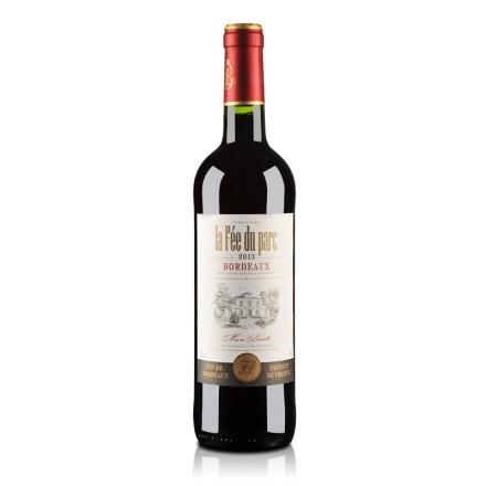 法国红酒波尔多AOC菲德帕克干红葡萄酒750ml