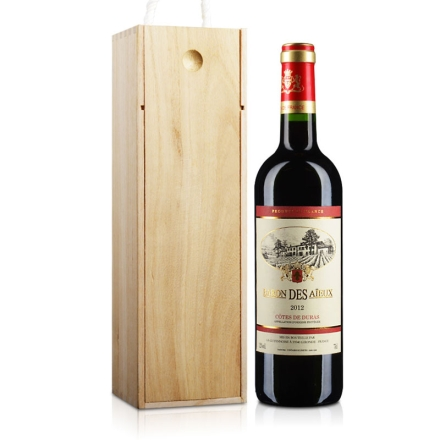 (清仓)12°巴隆世家干红葡萄酒750ml