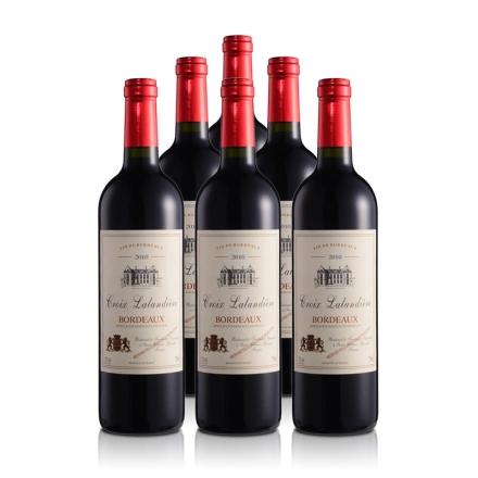 法国波尔多珍藏干红葡萄酒750ml(6瓶装)
